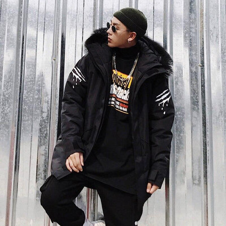 Parka Fourrure <br> Savage - Streetwear Shop