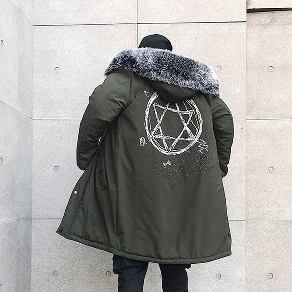 Parka Longue<br> Star - Streetwear Shop