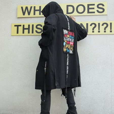 Parka Longue<br>Blackhat - Streetwear Shop