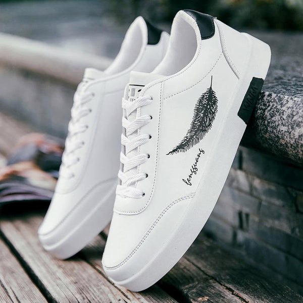 Streetwear Sneakers<br> Leaves - Streetwear Shop