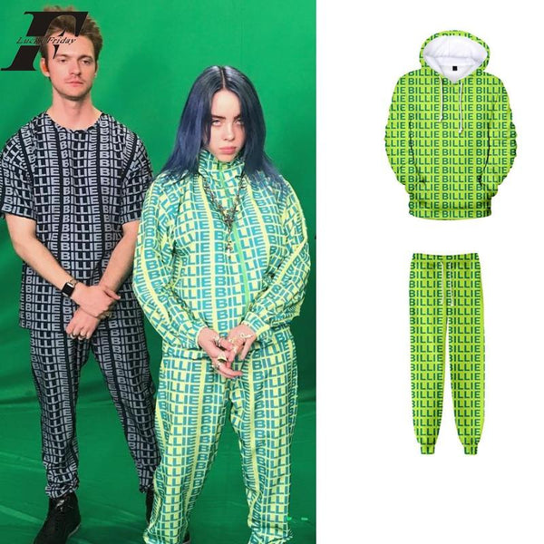 Sweat Billie Eilish <br> 3D - Streetwear Shop