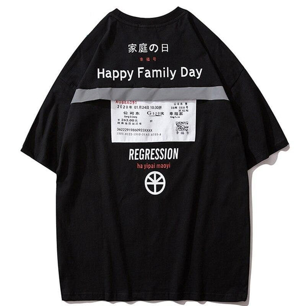 T-shirt Reflechissant<br> Family - Streetwear Shop