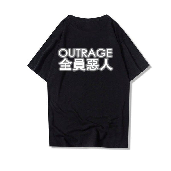 T-shirt Reflechissant<br> Outrage - Streetwear Shop