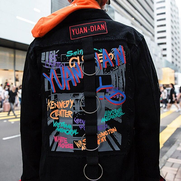 Veste En Jean <br> Graphic - Streetwear Shop