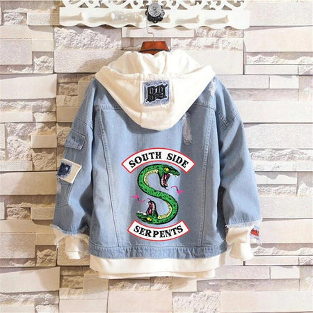 Veste South Side Serpent <br> Deux têtes - Streetwear Shop