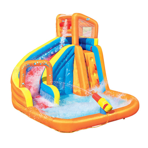 Sunny Days Enormous Inflatable Water Slide with Activity Center | Multi Colour