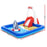 Lifeguard Themed Large Inflatable Kids Play Pool & Activity Center with Slide | Multi Colour