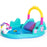 Unicorn Themed Large Inflatable Kids Play Pool & Activity Center with Slide | Multi Colour