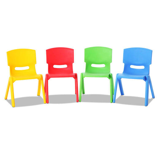 Norway Set of 4 Kids Play Chairs | Multi Color