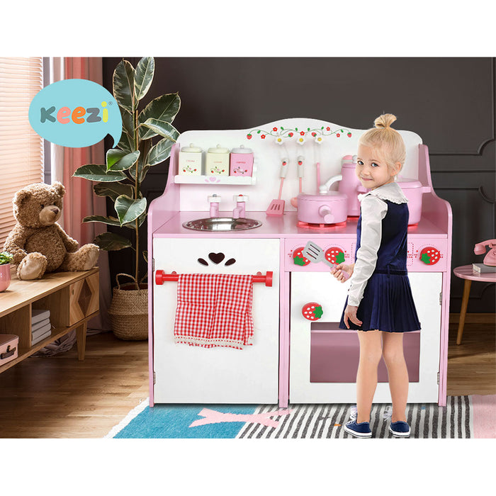 Little Chef Kitchen Play Set | Pink