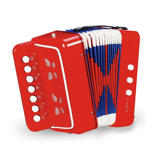 Vilac Kids Piano Accordion | Red/Blue