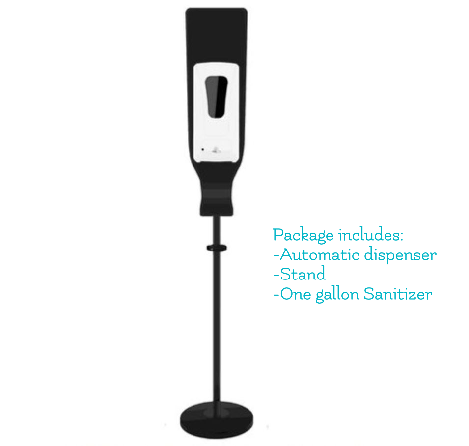 Sanitizer Dispenser with Stand (1 gallon included)