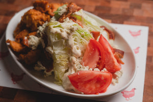 Fried Chicken Wedge Salad