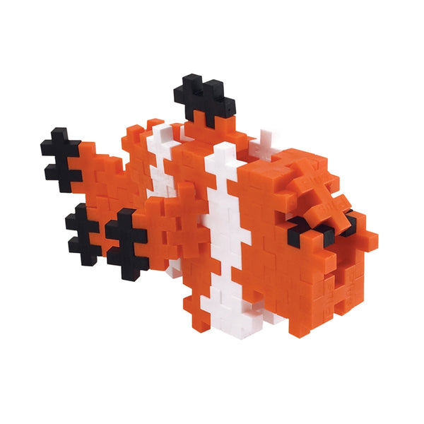 Clownfish 70pc Building Block Tube