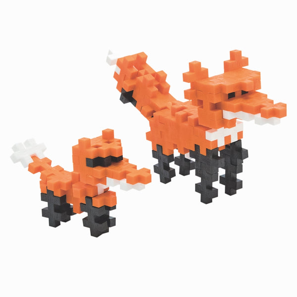 Red Fox 70pc Building Block Tube