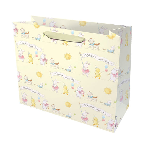 Welcome Wee One Gift Bag - Yellow