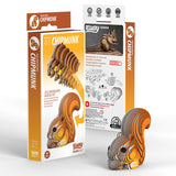 Chipmunk 3D Cardboard Model Kit