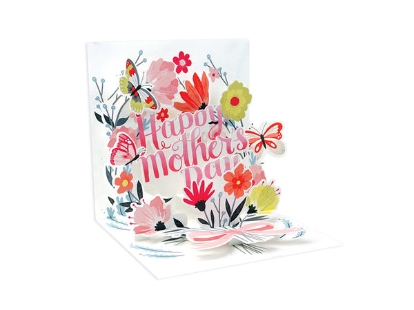 Springtime Bouquet Pop-up Greeting Card