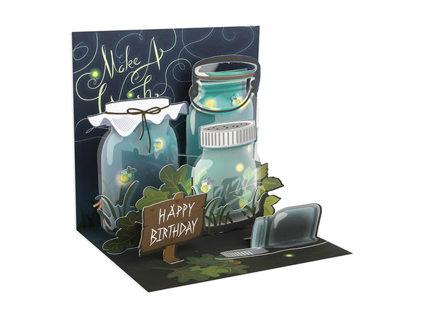 Lightning Bugs Mini Pop-Up Card
