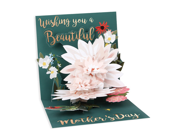 Beautiful Wishes Pop-up Greeting Card