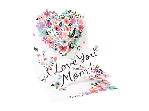 Heart for Mom Pop-up Greeting Card