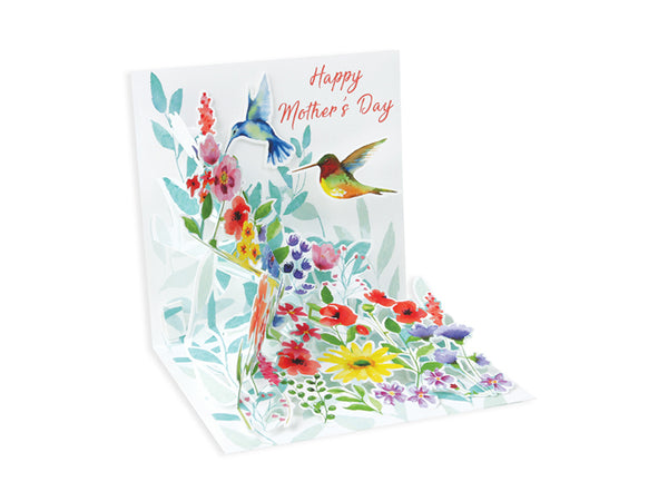 Hummingbird Song Pop-up Greeting Card