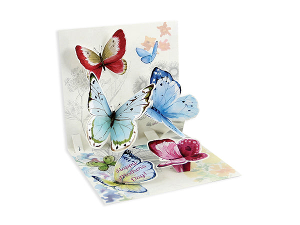 Butterflies of Spring Pop-up Greeting Card