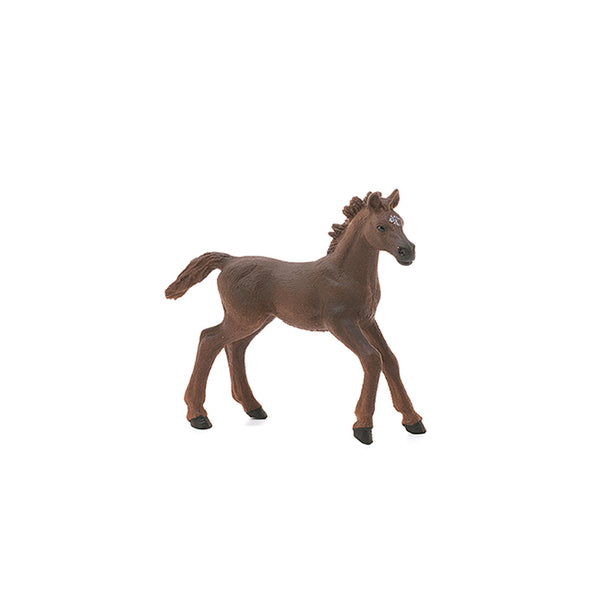 "English Thoroughbred Foal 4"" Figure"