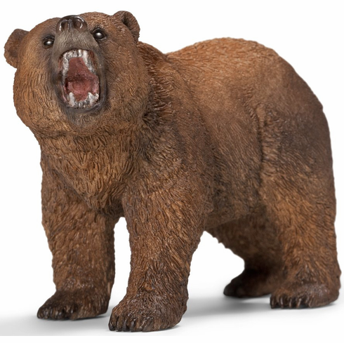 "Grizzly Bear 4"" Figure"