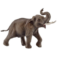 "Asian Elephant Male 7"" Figure"