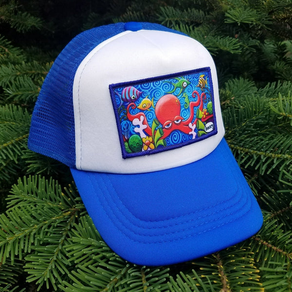 Little Henry Quadrapus Trucker Hat
