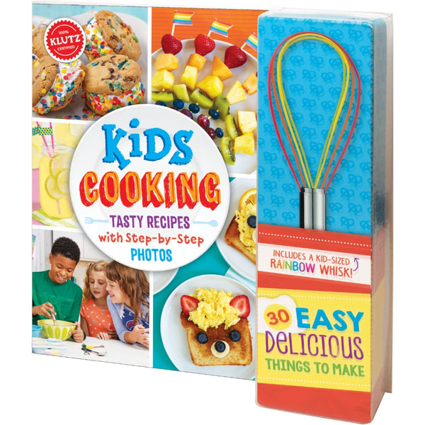 Kids Cooking Book & Whisk