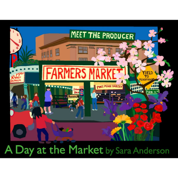 A Day at the Market Board Book