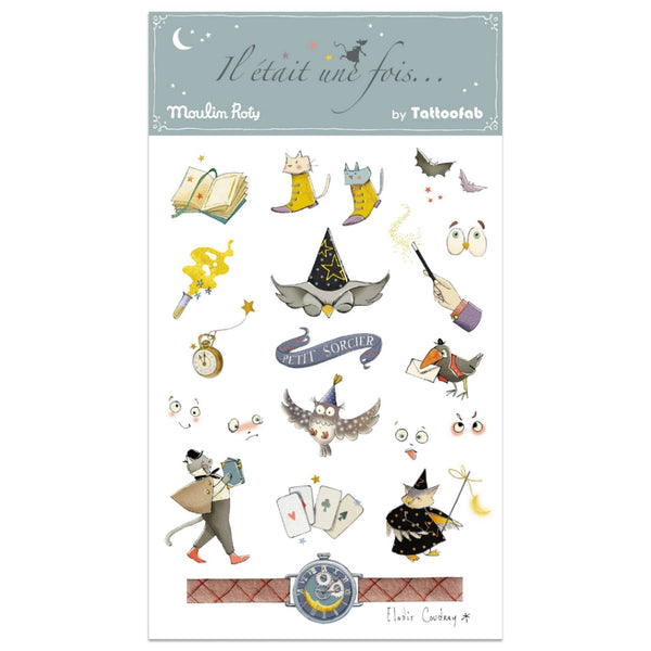 Little Wizard Temporary Tattoos