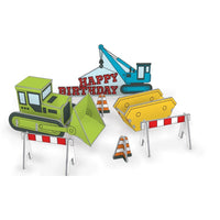 Construction Pop & Slot Birthday Card
