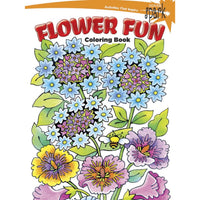 Flower Fun Coloring Book