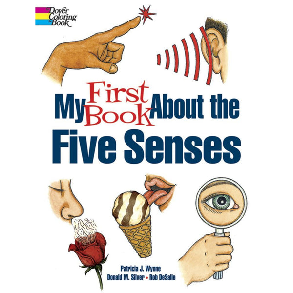 My First Book About the Five Senses Coloring Book