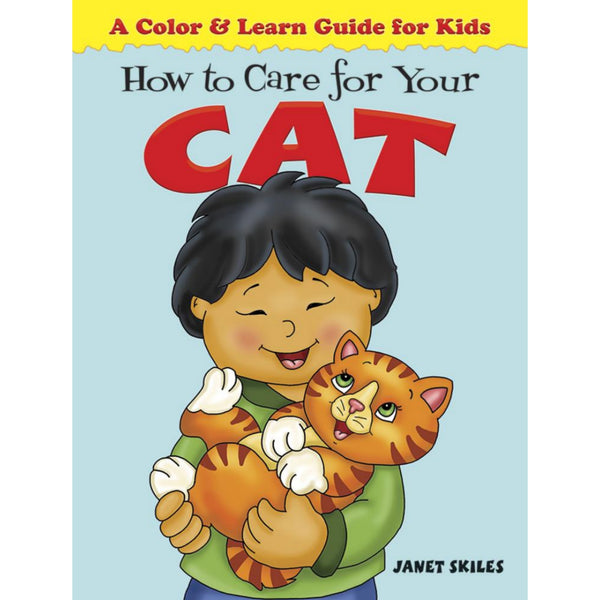 How to Care for Your Cat Coloring Book