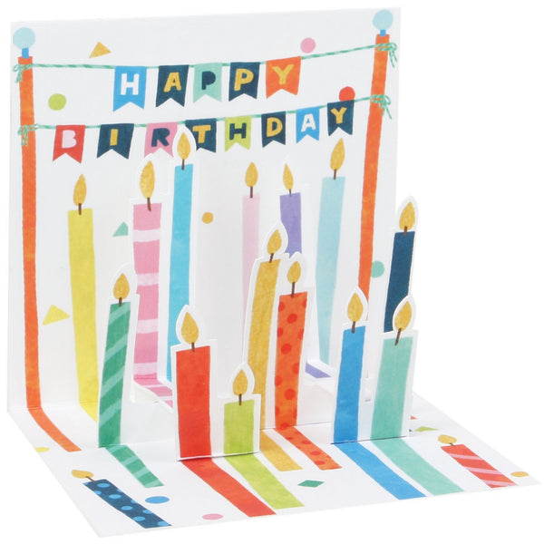 Lots Of Candles Mini Pop-Up Card