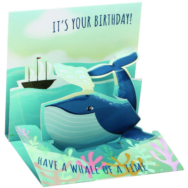 Whale Mini Pop-Up Card