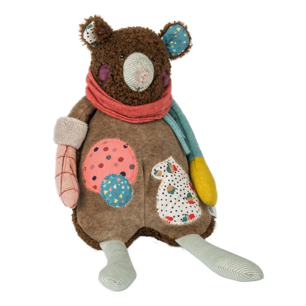 "Patchwork Bear 12"" Musical Soft Toy"