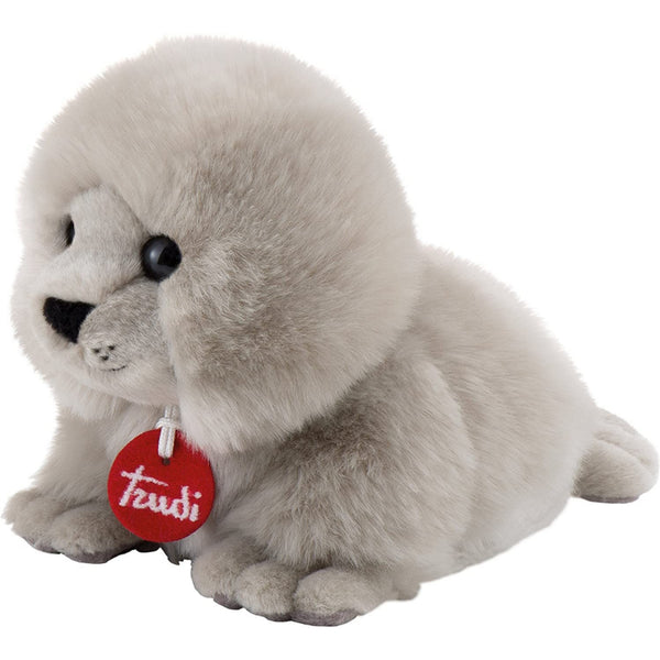 "Classic Fluffy Seal 8"" Plush"