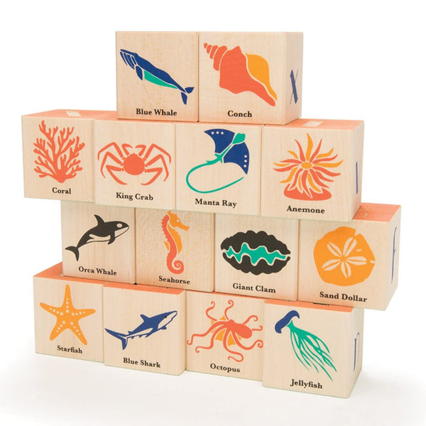 Ocean Wooden Blocks