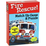 Fire Rescue Match Up Game & Puzzle