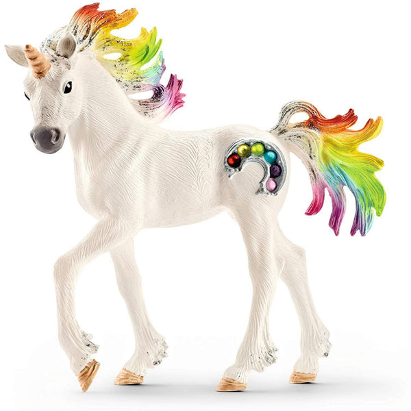 "Rainbow Unicorn Foal 6"" Figure"