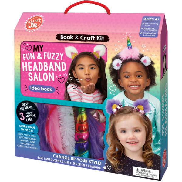 My Fun & Fuzzy Headband Salon Kit
