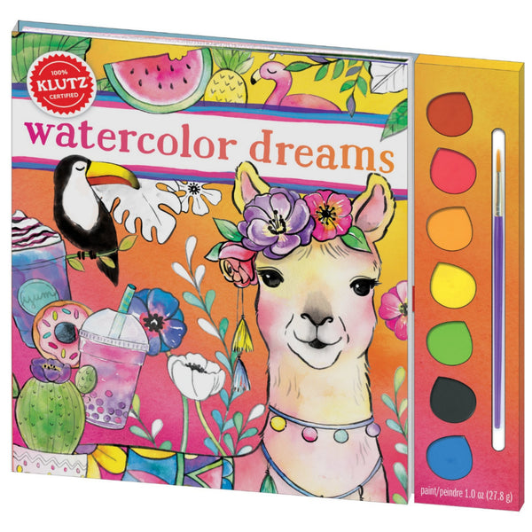 Watercolor Dreams Painting Set