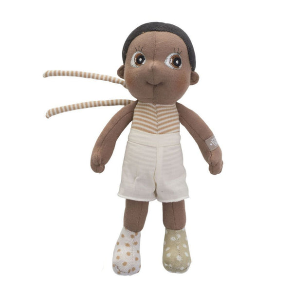 "Basil Mini EcoBuds 9"" Soft Doll"