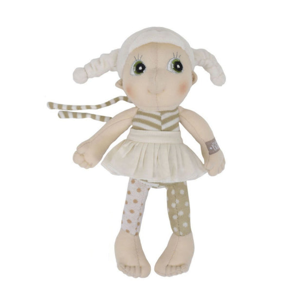 "Lily Mini EcoBuds 9"" Soft Doll"