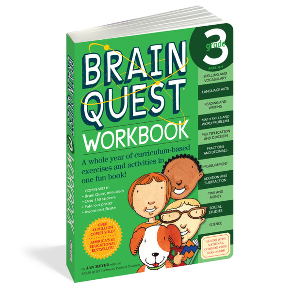 Brain Quest Grade 3 Workbook